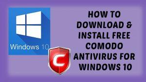 Comodo Antivirus Activation