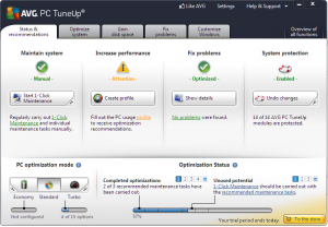 AVG PC TuneUp Utilities Keygen
